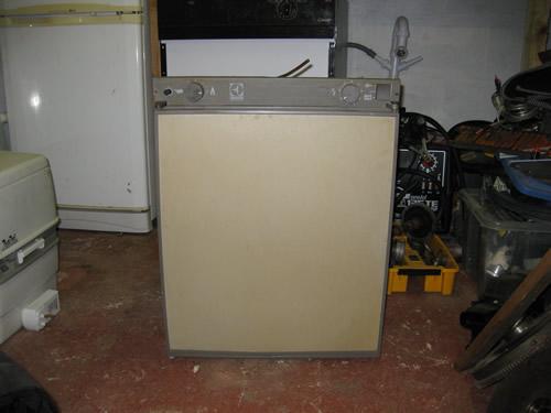 Gas Ignition On Electrolux Three Way Fridge Equipment